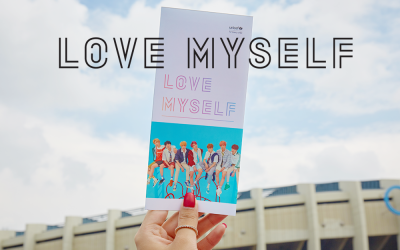 'LOVE MYSELF' campaign at the world tour kick off